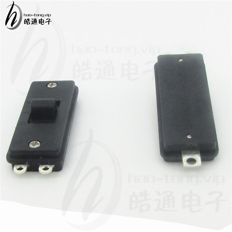 皓通直销单极3位3档三孔脚SS-1305风筒档位选择薄款塑胶波动开关