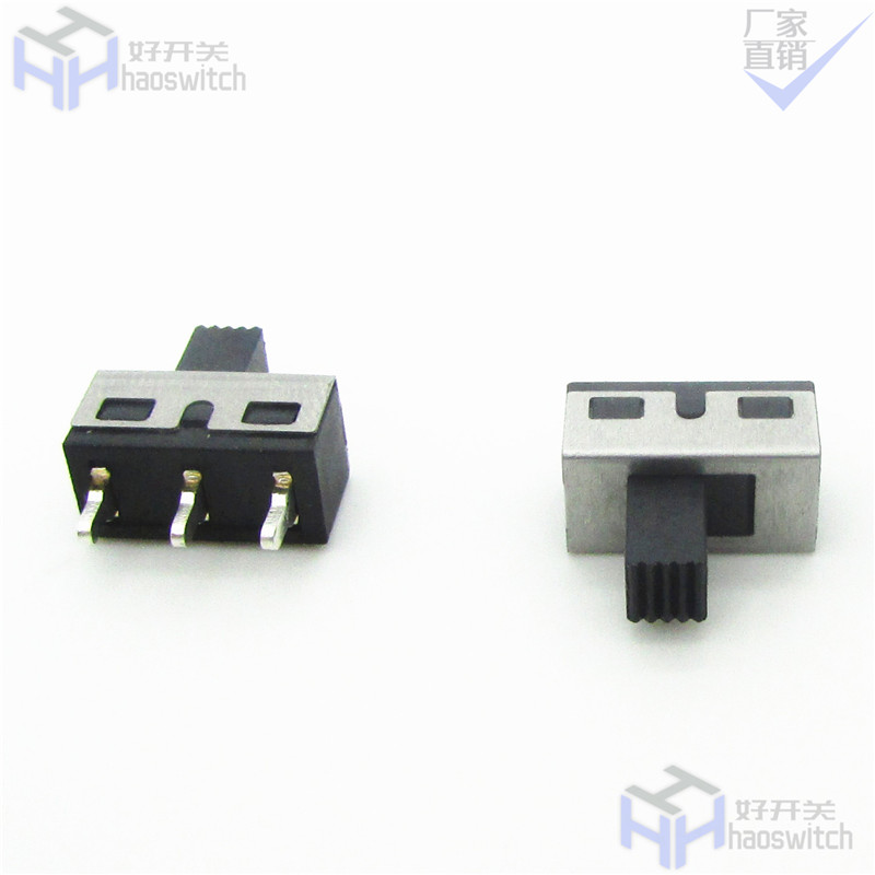 皓通2021推荐大电流单排两档贴片电动工具两档波动开关