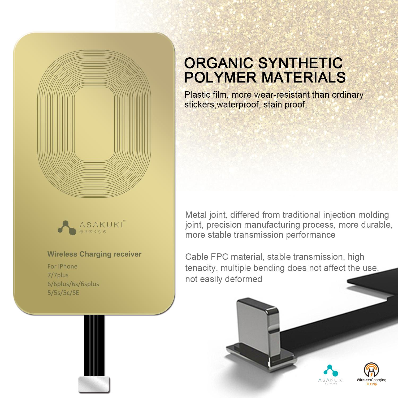 ASAKUKI Wireless Charging Receiver
