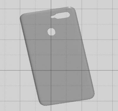潮州抄数三维扫描oppo手机壳