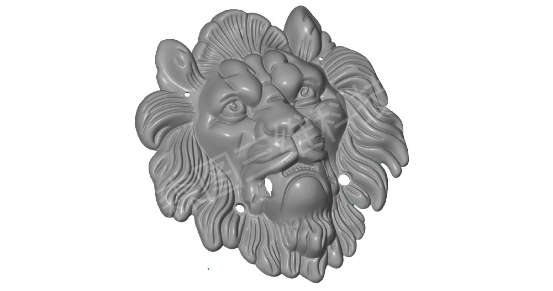狮子头ATOS蓝光扫描案例