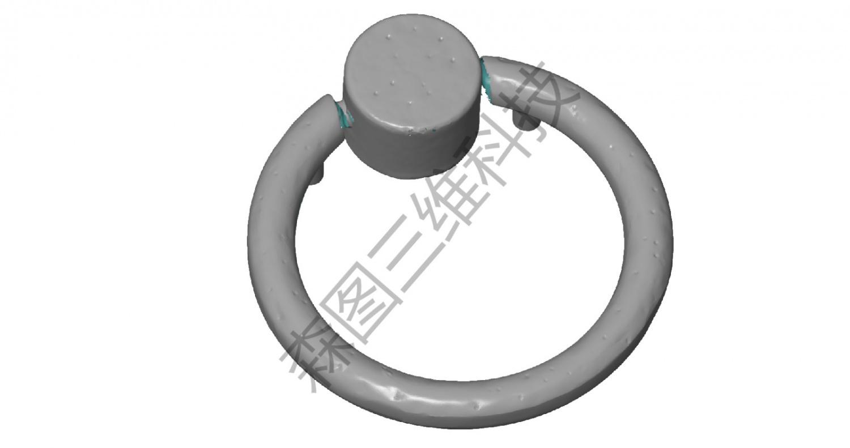压铸件锁环ATOS蓝光三维扫描设计数据