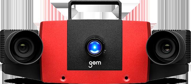 ATOS Compact Scan – 多功能三维光学扫描器