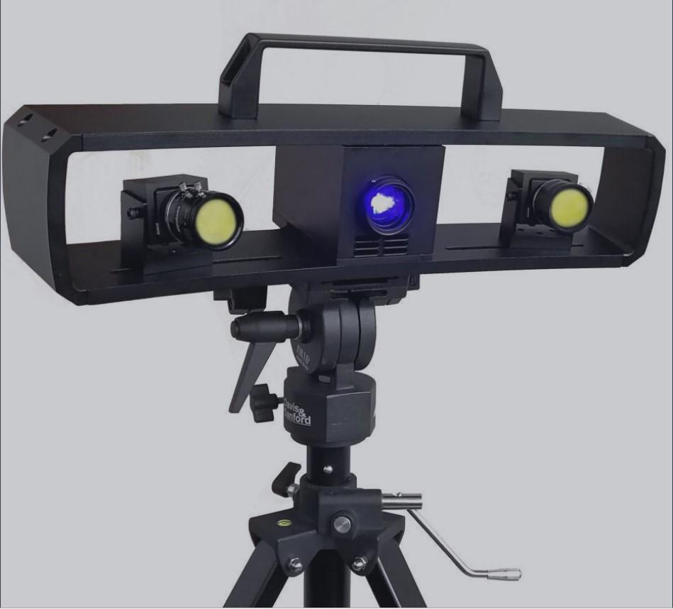 精密双目型蓝光三维扫描仪