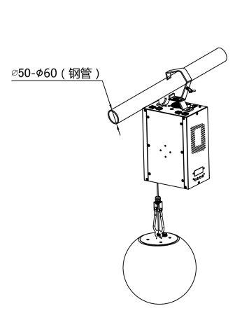LT-816M安装示意图B