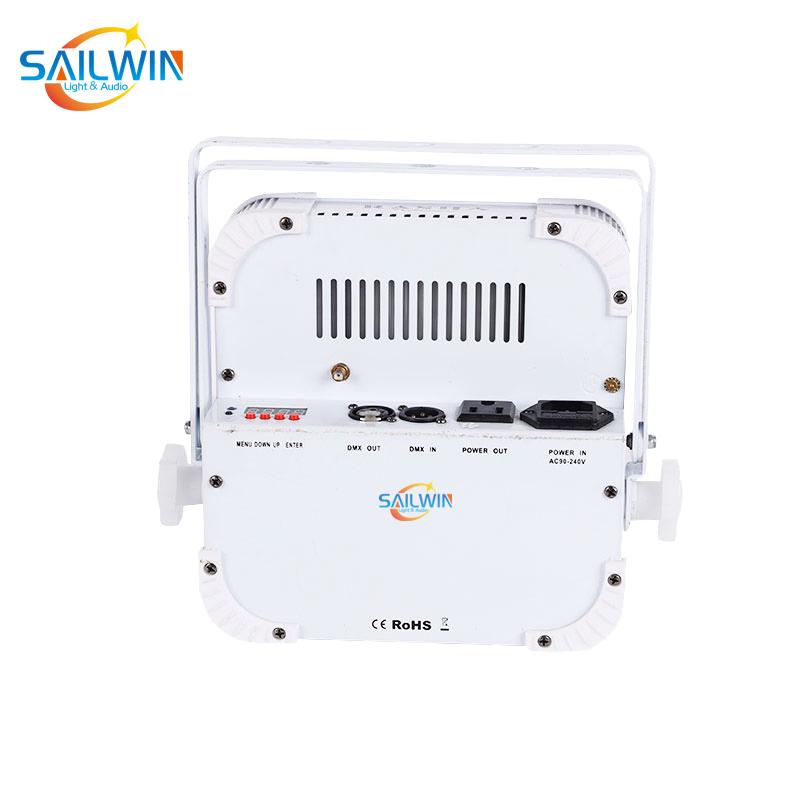 12*18W 6in1 2.4GHZ Wireless LED Flat Par Light