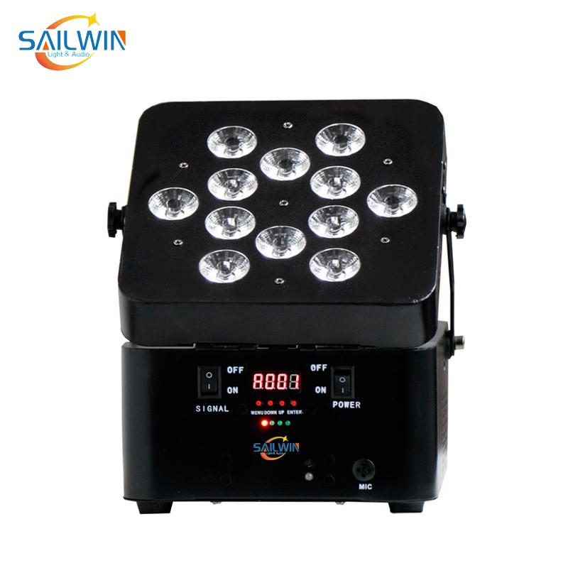 12x10W RGBW Battery Powered Par Light with Wireless Control