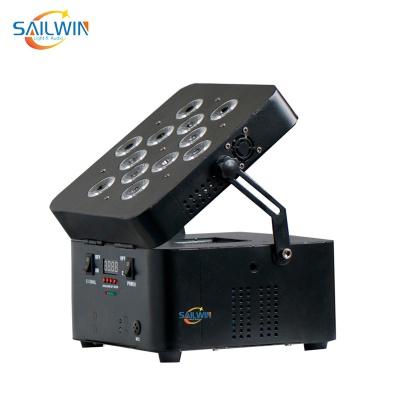 12x15W RGBWA Battery Powered Par Light with Wireless Control