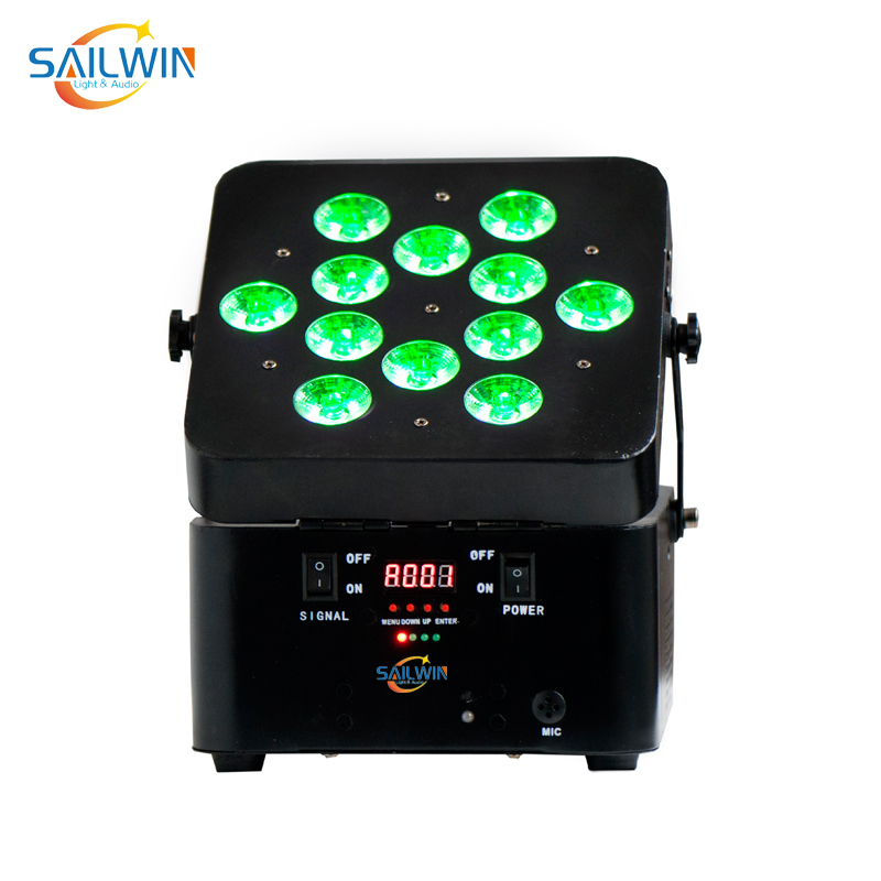 12x15W RGBWA Battery Powered Par Light with Wireless Control