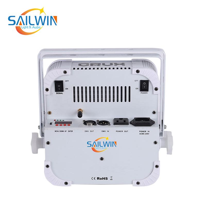 9x18W 6in1 Battery Powered Wireless LED Par Light IR Remote SW-C6V9BW