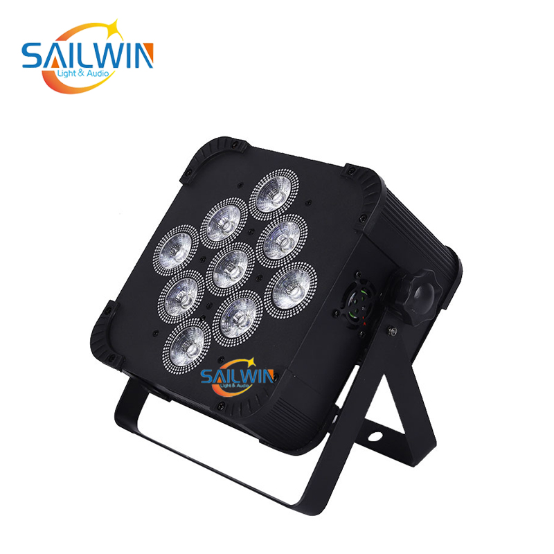 9x18W 6in1 Battery Powered Wireless LED Par Light
