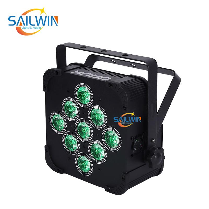 9x10W 4in1 Battery Powered Wireless LED Par Light SW-C4V9BW