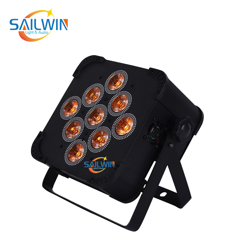 9x18W 6in1 Mobile APP Battery Powered Wireless LED Par Light SW-C6V9BW