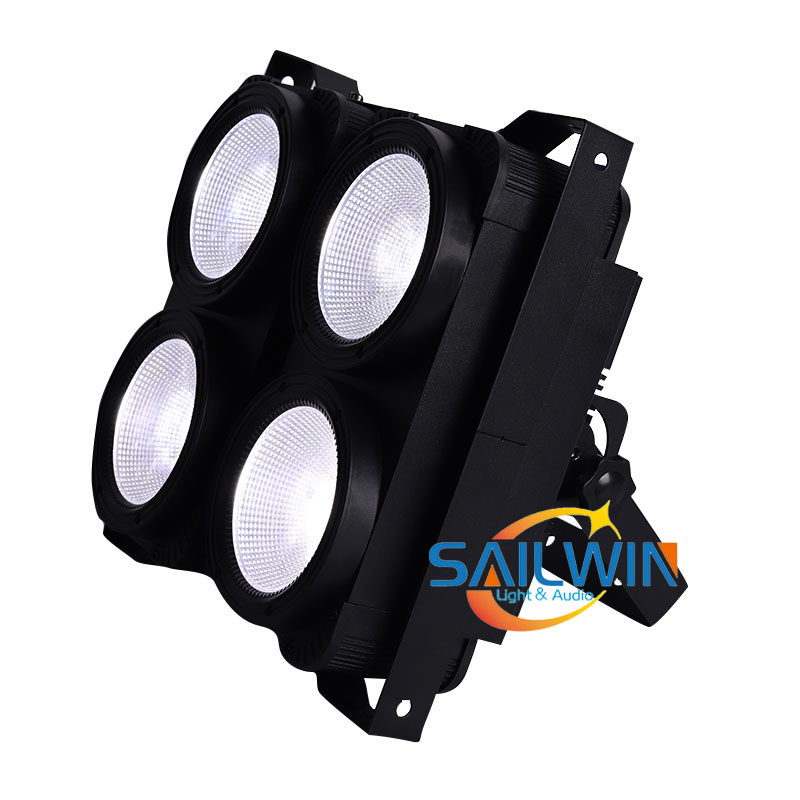 400W 4 Eyes COB 2in1 WW/CW Stage LED Blinder Light