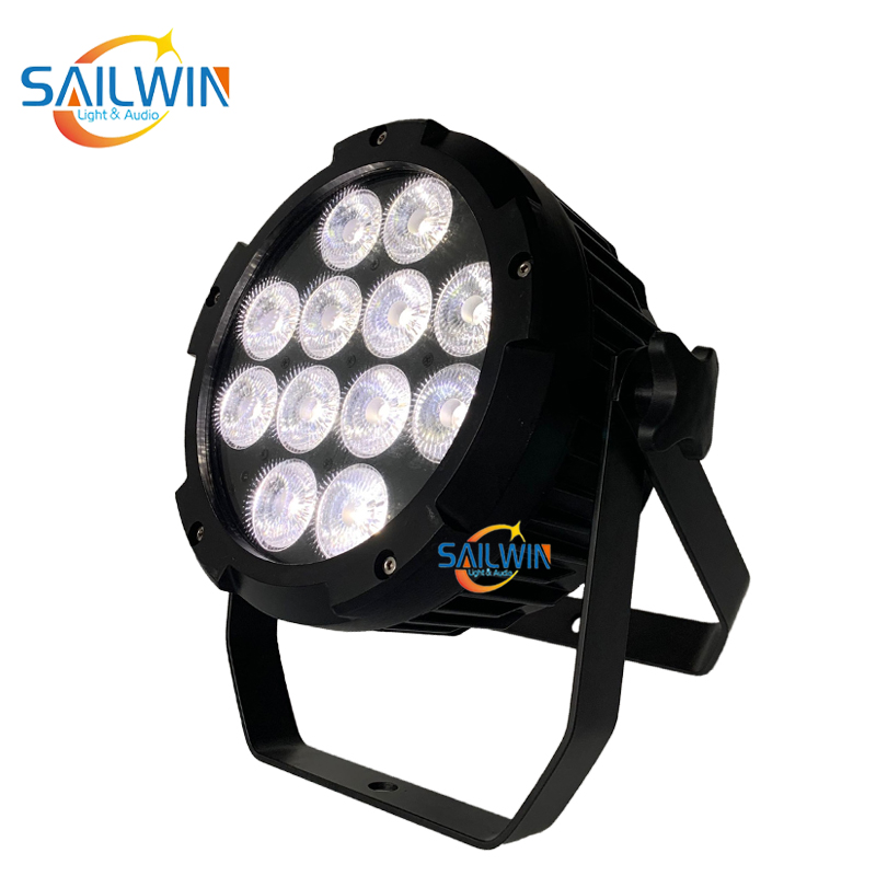 IP65 Waterproof 12*18W 6in1 WIFI Battery Powered APP LED Par Light