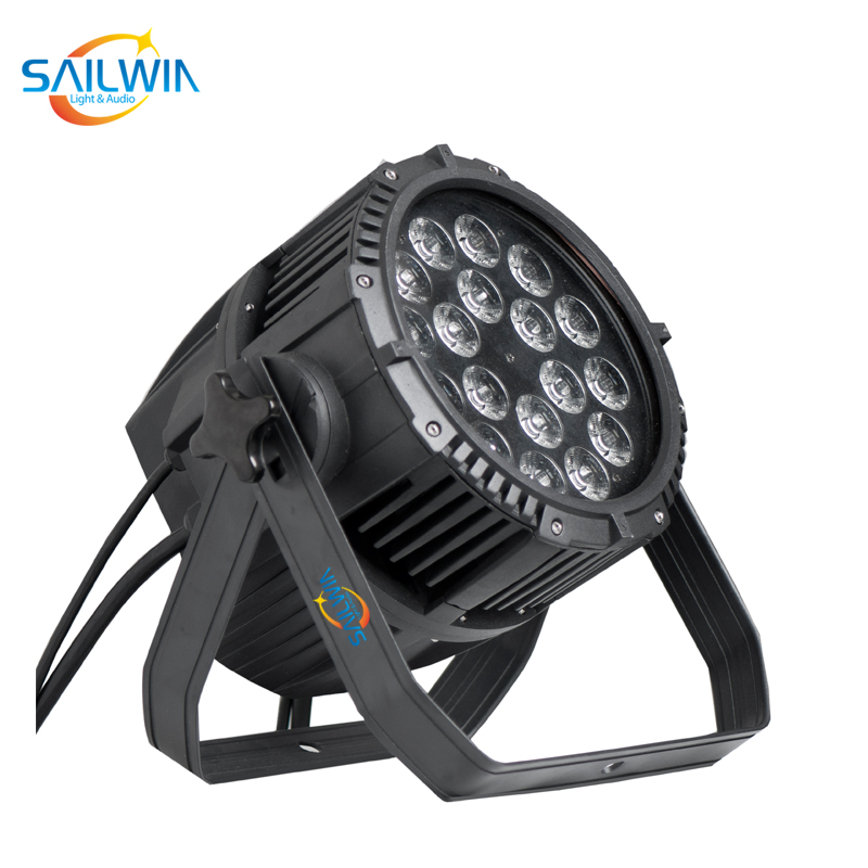 Outdoor Stage 18x18W RGBAW UV IP65 Waterproof LED Par Light