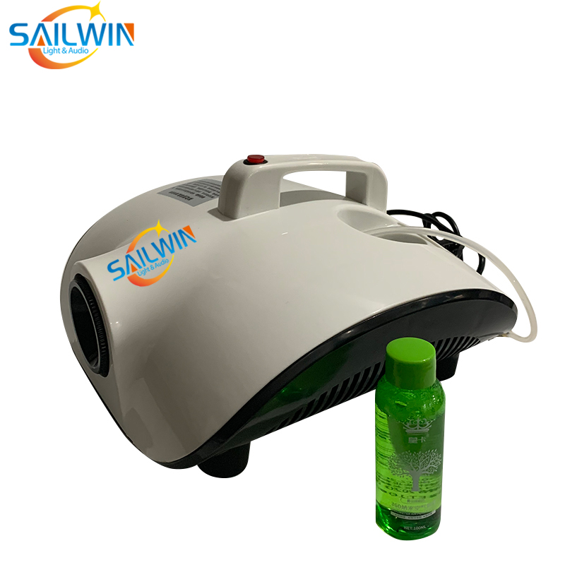 1000W Disinfection Fog Smoke Machine For Car Hotel Office