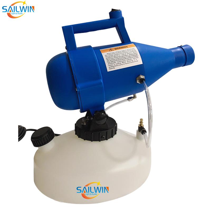 1400W 4.5L ULV Disinfection Fogger Smoke Machine Portable Nebulizer Sprayer