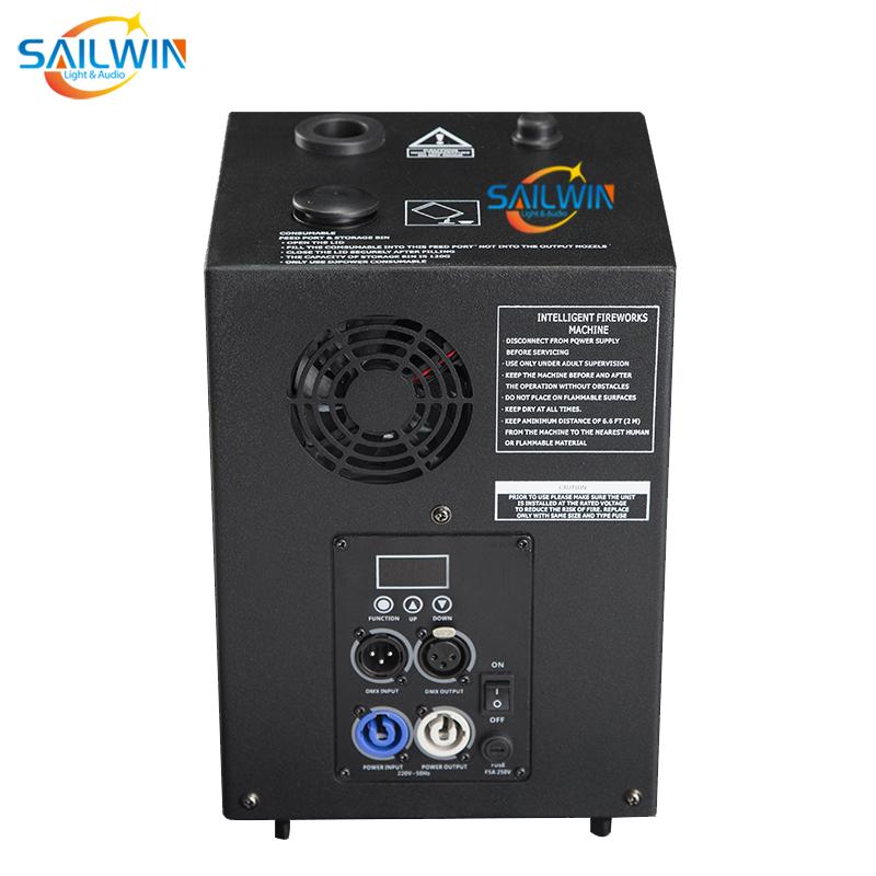 400W DMX Spark Wireless Sparkular Cold Machine With Flight Case Flycase