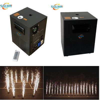 Wireless Remote 600W DMX512 Spark Cold Machine Sparkular Effect Light For Wedding