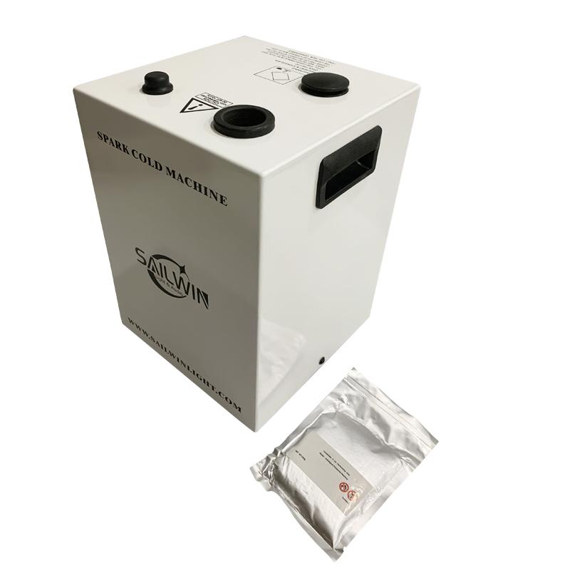 White Case 400W DMX512 Wireless Sparkular Effects Machine For Wedding Party