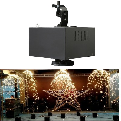 SW-D400 400W Fountain Waterfall DMX512 Wireless Cold Spark Machine Sparkular Equipment