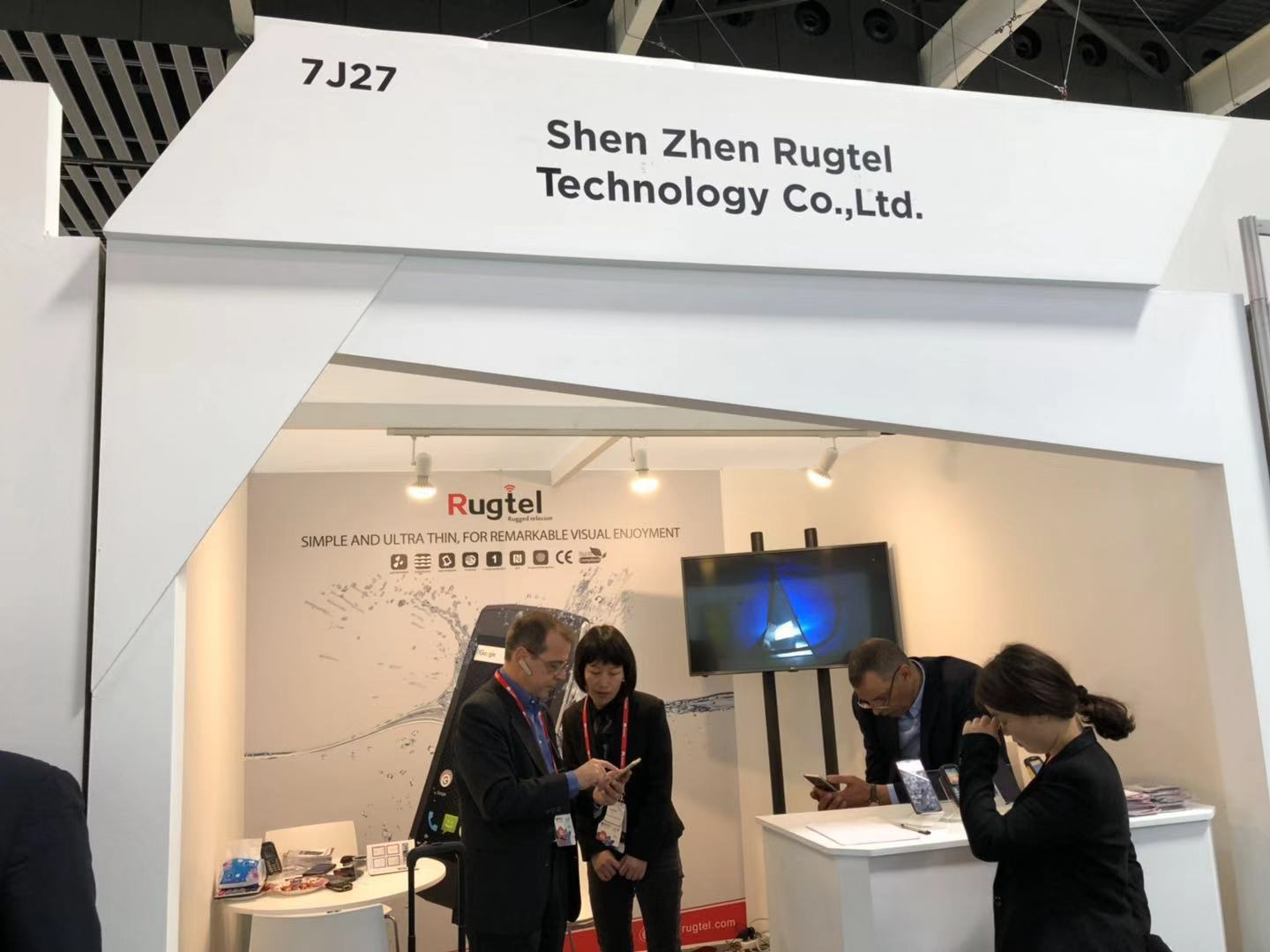 Rugtel attend MWC 2018, Booth No: 7J27