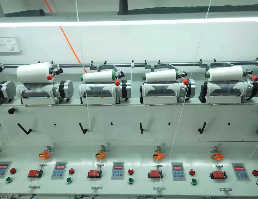 GH018-E Multi-Ply Yarn winding machine
