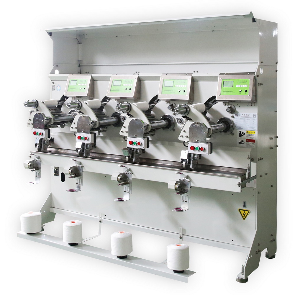 GH019-HA Automatic 6 Inch A Cone High Speed Winding Machine