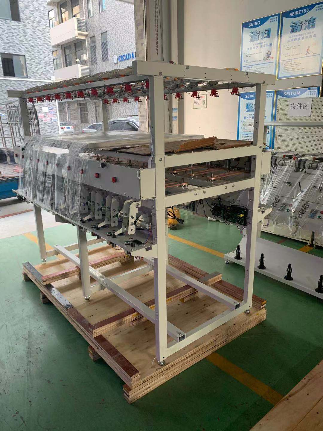 High speed elastic cord knitting machine for mask