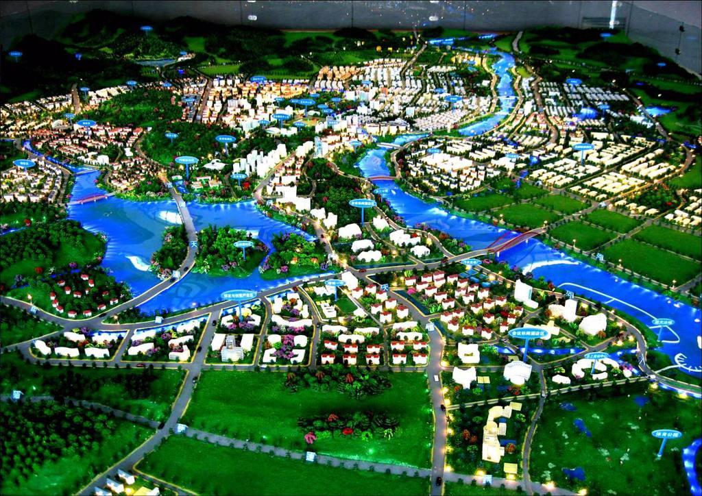 城市规划沙盘
