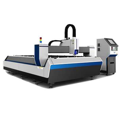 Single platform laser cutting machine