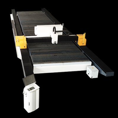 Gantry fiber laser cutting machine