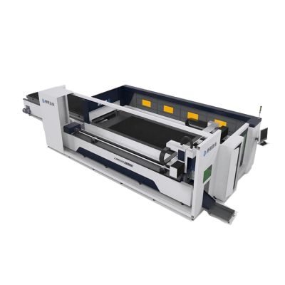 Enclosed plate and tube laser cutting machine