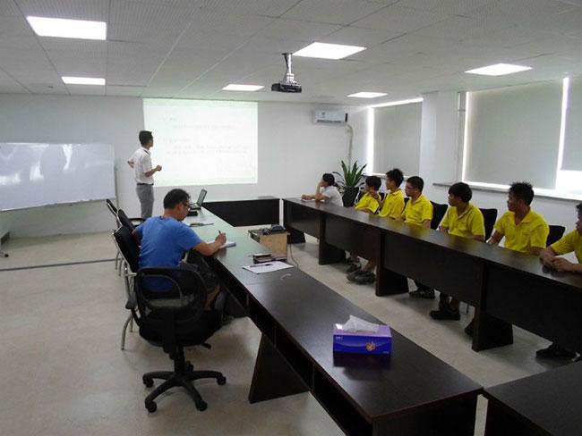公司5S培训及现场相片