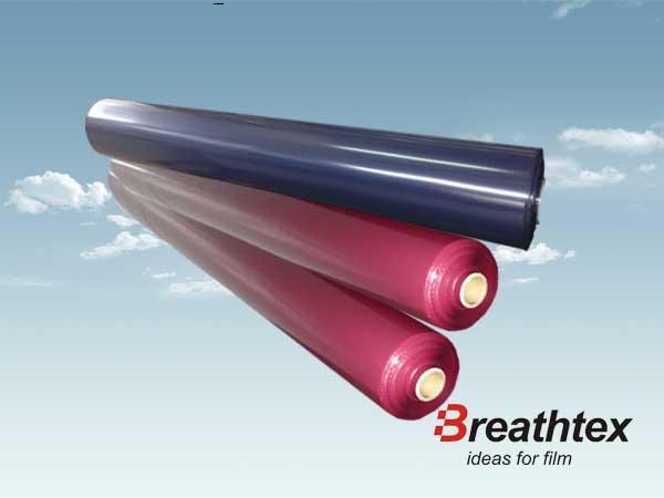 TPU防水透湿薄膜—低透湿薄膜(藏青 酒红色)