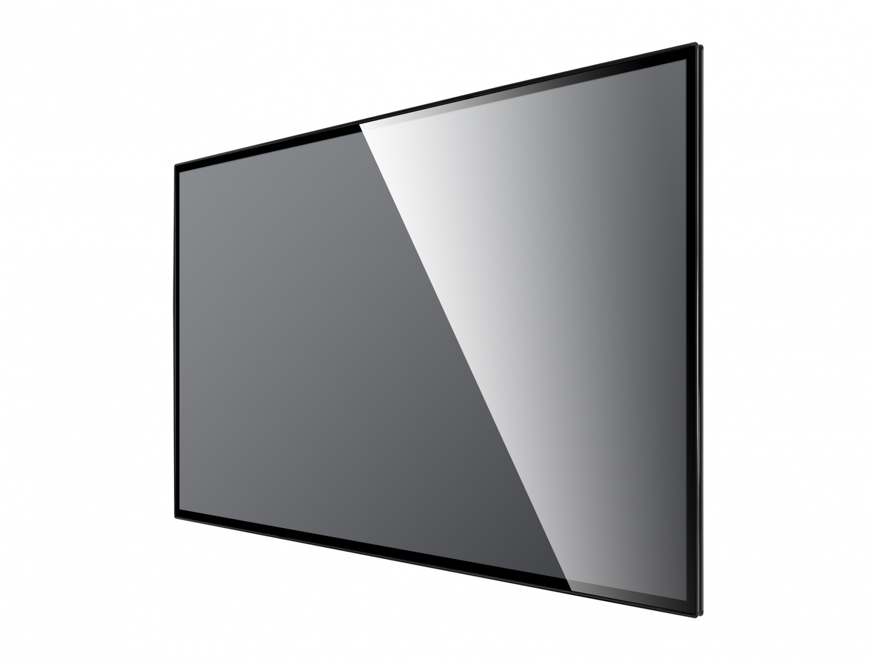 86寸壁挂广告机黑色