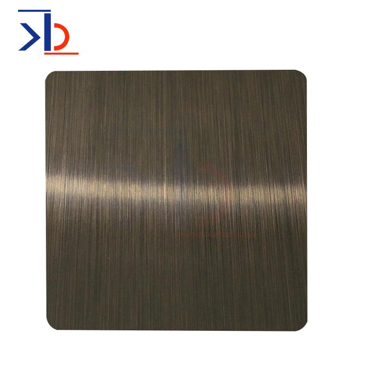 深色铜包层镀锡不锈钢板
