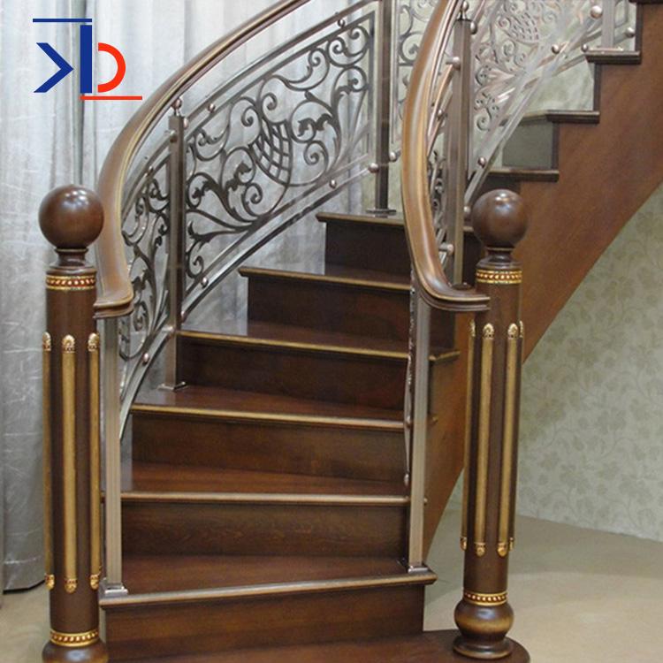 现代室内金属不锈钢楼梯栏杆