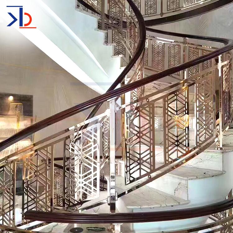 金属不锈钢楼梯栏杆