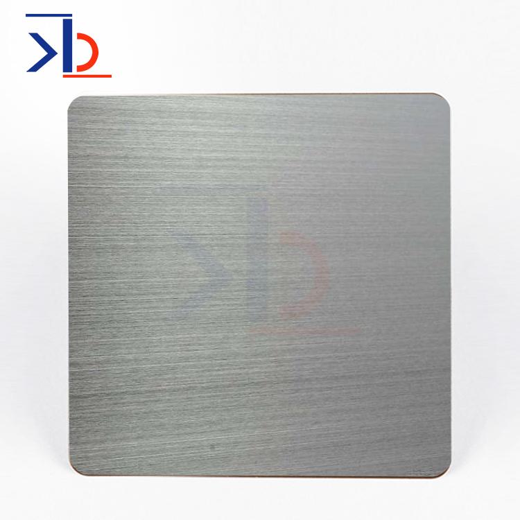 不銹鋼拉絲板304細紋鎳銀