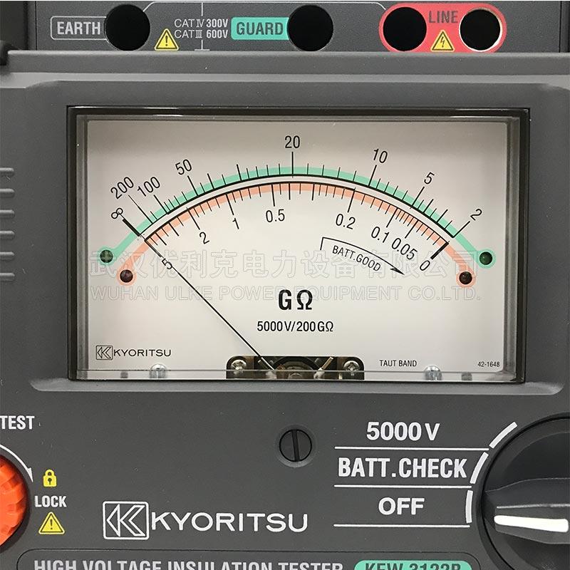 24.日本共立 绝缘电阻测试仪 KEW 3122B 5000V