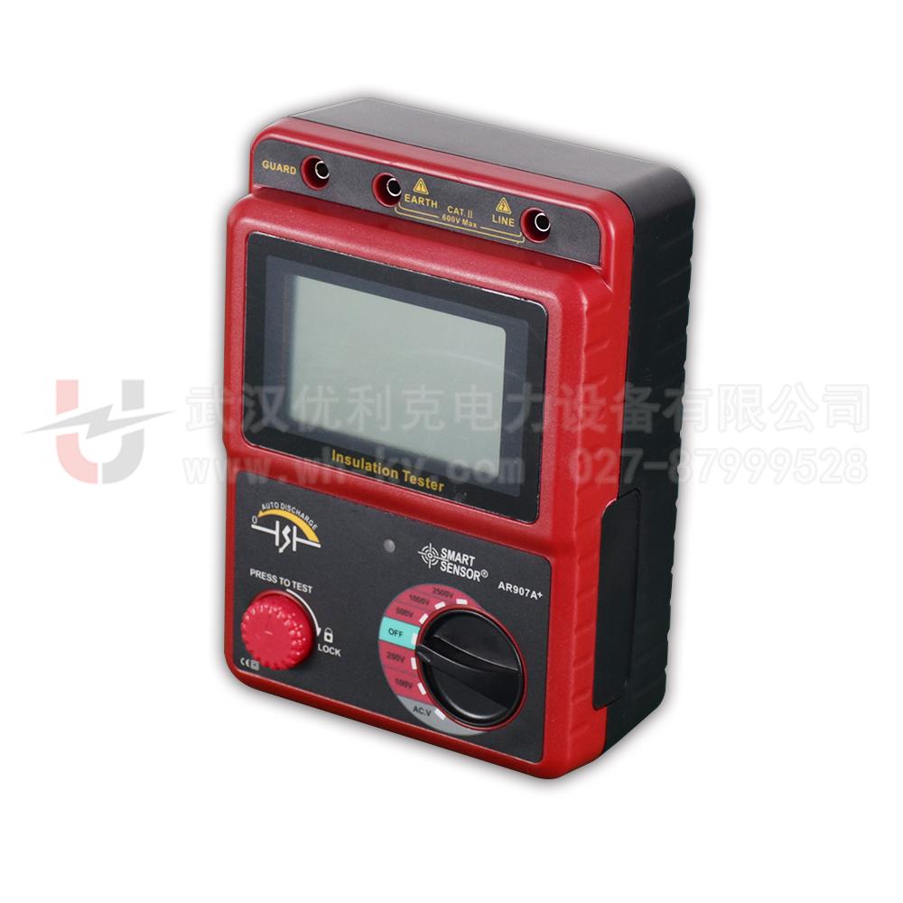 09.AR907A+绝缘电阻测试仪