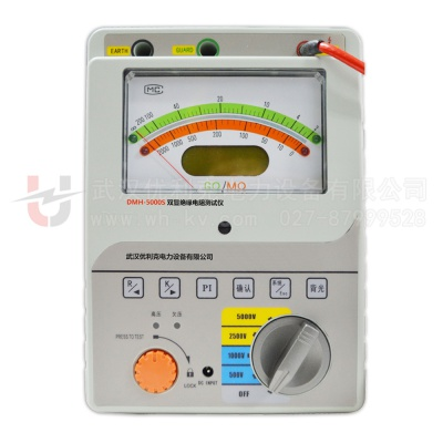 DMH-5000S双显绝缘电阻测试仪(吸收比)