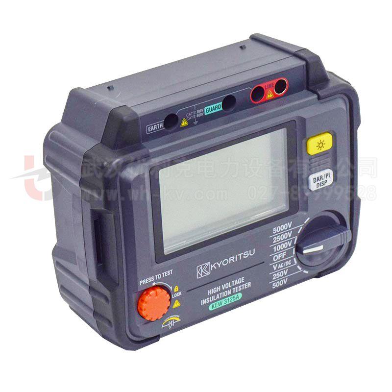 日本共立 5000V 高压绝缘电阻测试仪 KEW3125A/3125