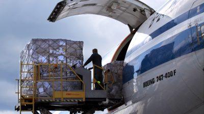 FM特色空运之防疫物资复工复产货运包机