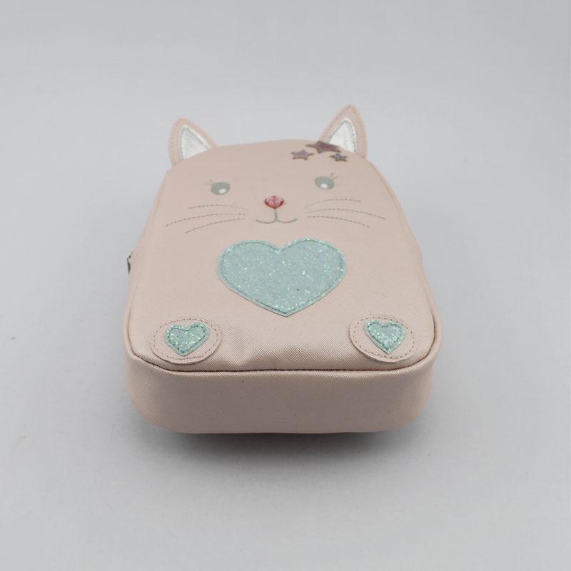 猫咪心形童装背包