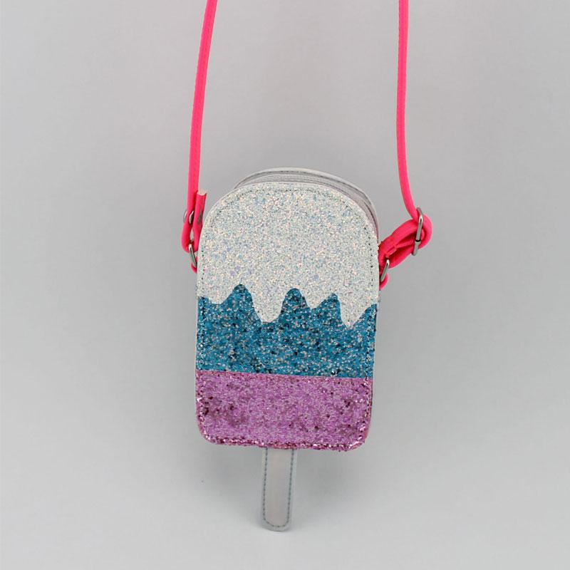 雪糕童装斜挂包