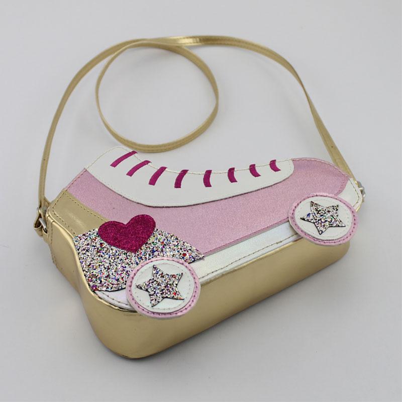轮滑鞋童装斜挂包