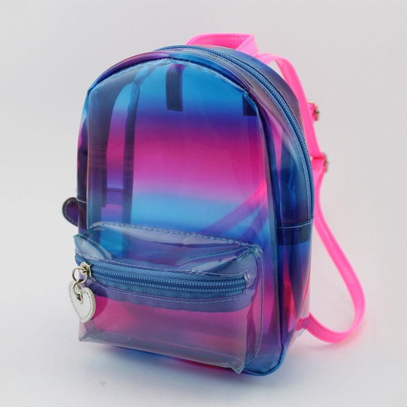 彩色透明童装背包